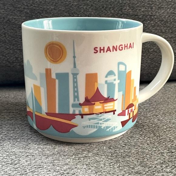 Starbucks Shanghai ceramic mug